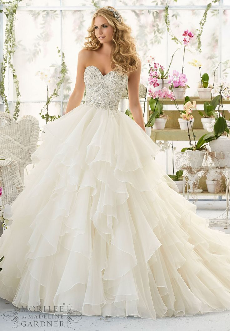 ivory wedding dresses wedding dresses and wedding gowns by morilee featuring intricate crystal  beaded and embroidered bodice DVJPQNX