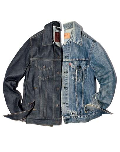 jean jackets a hard denim jacket gets softer, grittieru0026# EJMIHTF