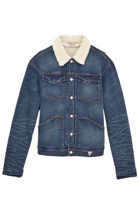 jean jackets guess cotton denim jacket,u0026nbsp;$178;u0026nbsp ... GXRHHEI