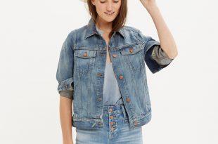 jean jackets the jean jacket in ellery wash : overalls u0026 more denim | madewell ONWGKRO