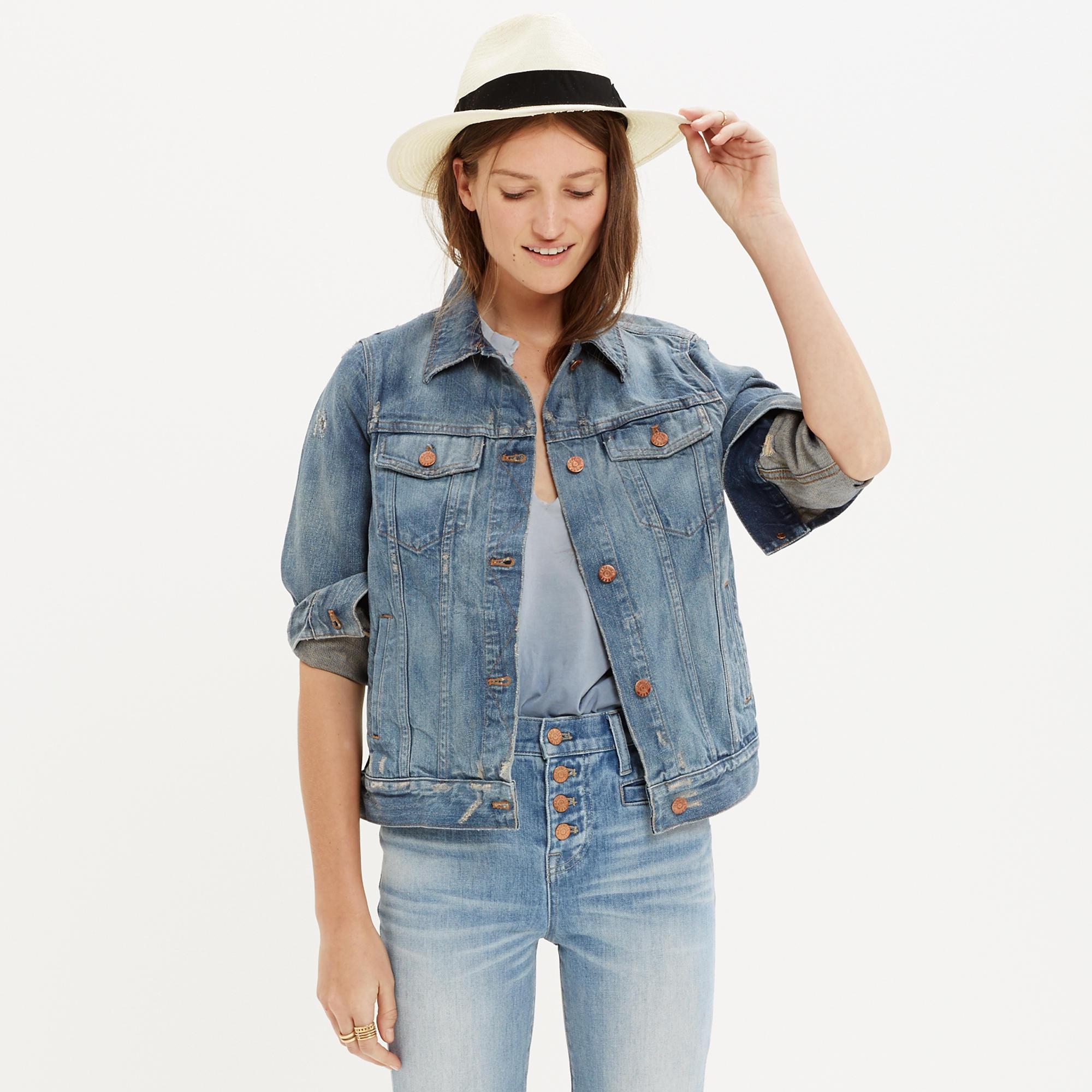 Ways to style Jean Jackets
