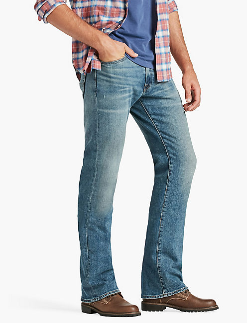 jeans for men lucky 427 athletic boot BGBQTEB
