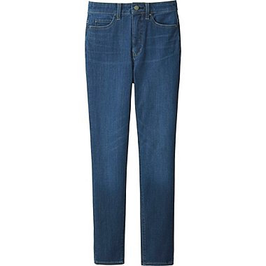 jeans for women women ultra stretch high rise ankle jeans, blue, medium EHSXSCQ