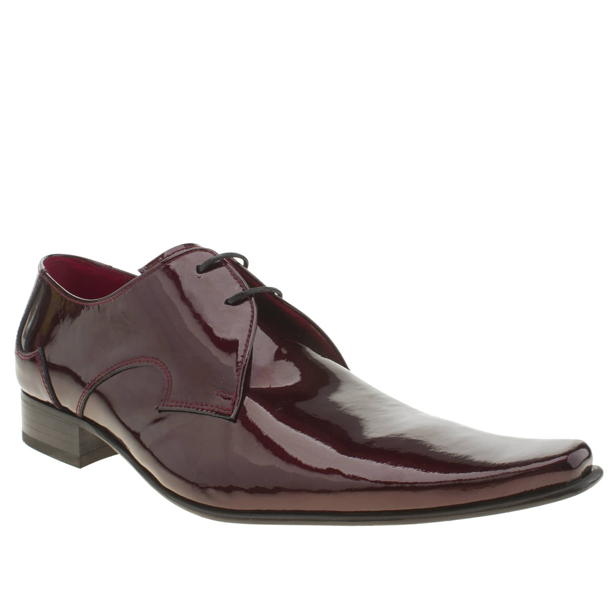 jeffery west shoes mens burgundy jeffery west pino plain vamp shoes | schuh BNMGGAY