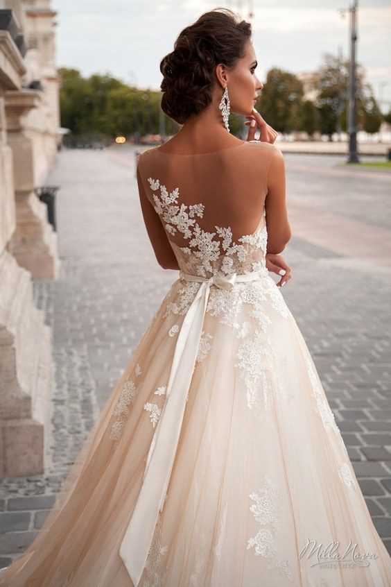 jeneva lace wedding dress 2016 DRQIRKS