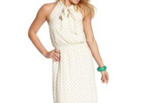 jessica simpson dresses jessica simpson sleeveless pineapple halter dress EIOSHQX