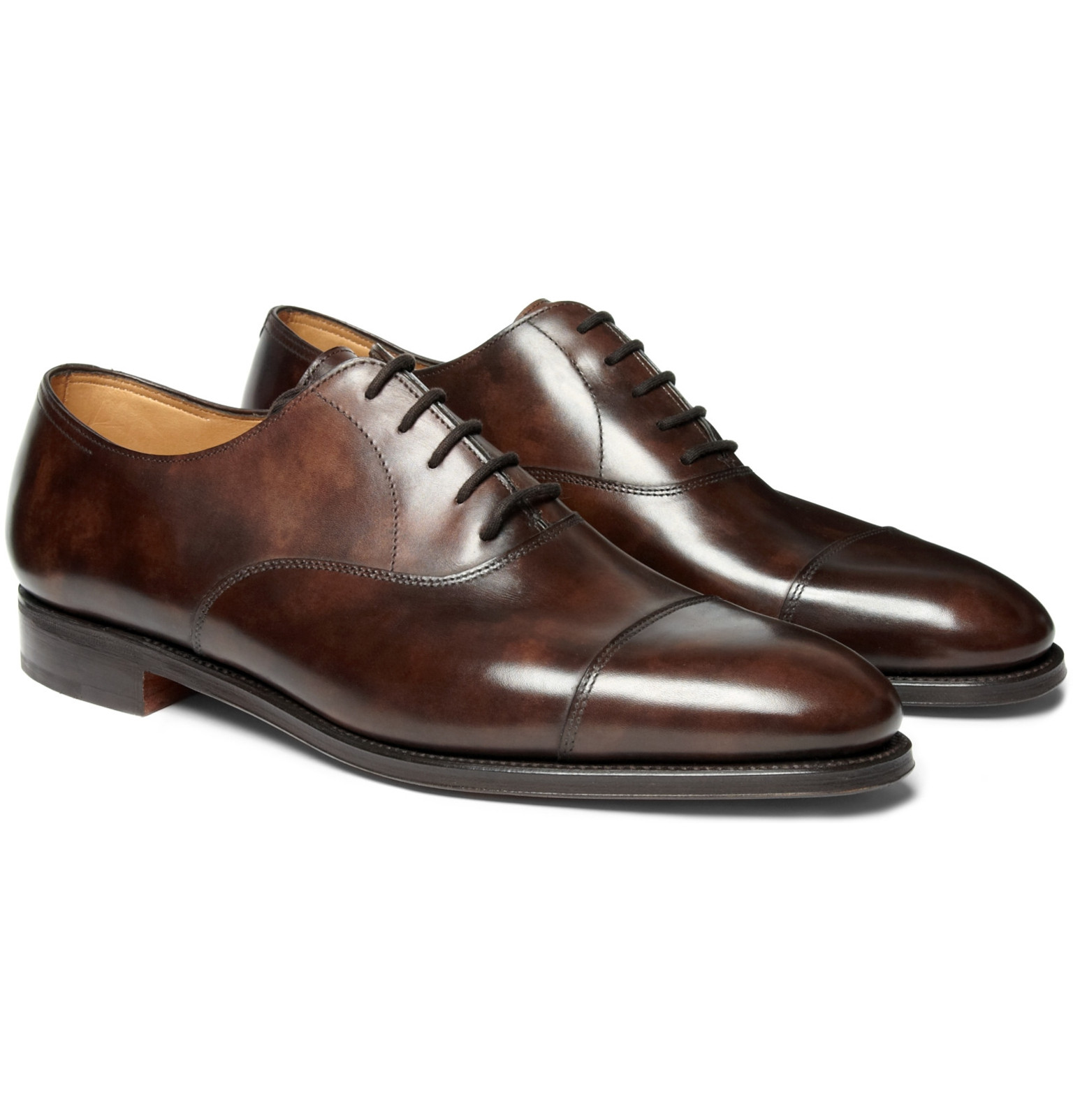 john lobb - city ii leather oxford shoes BUOCLAH