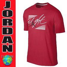 jordan t shirts nwt nike air jordan flight tee size xl red/white 657896 687 GOSKGFO
