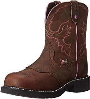 justin boots for women justin boots womenu0027s gypsy collection round-toe western boot - 8 inch XXMWJRZ