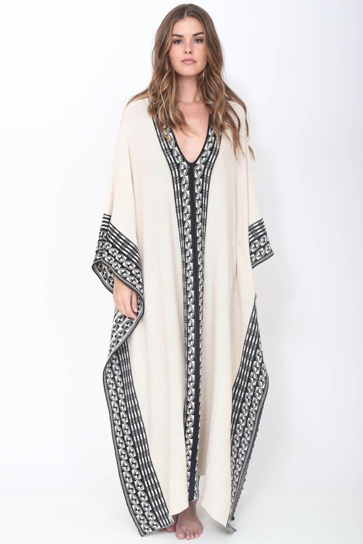 The free flowing kaftan dresses for women