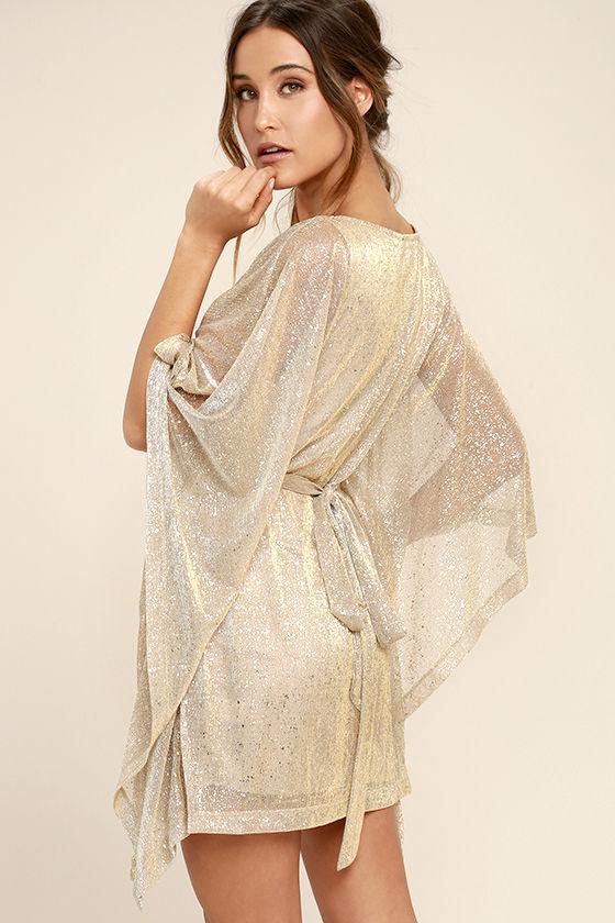 kaftan dresses lovely gold dress - kaftan dress - metallic dress - belted dress - $74.00 QXSEBNM