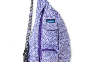 kavu bags kavu rope bag (purple quilt) RXHLVIZ