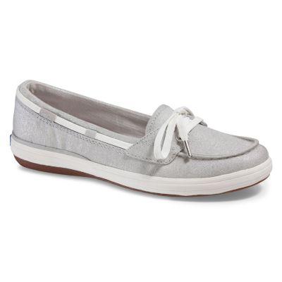 keds shoes keds glimmer lurex womenu0027s ortholite boat shoes ZOYDICG