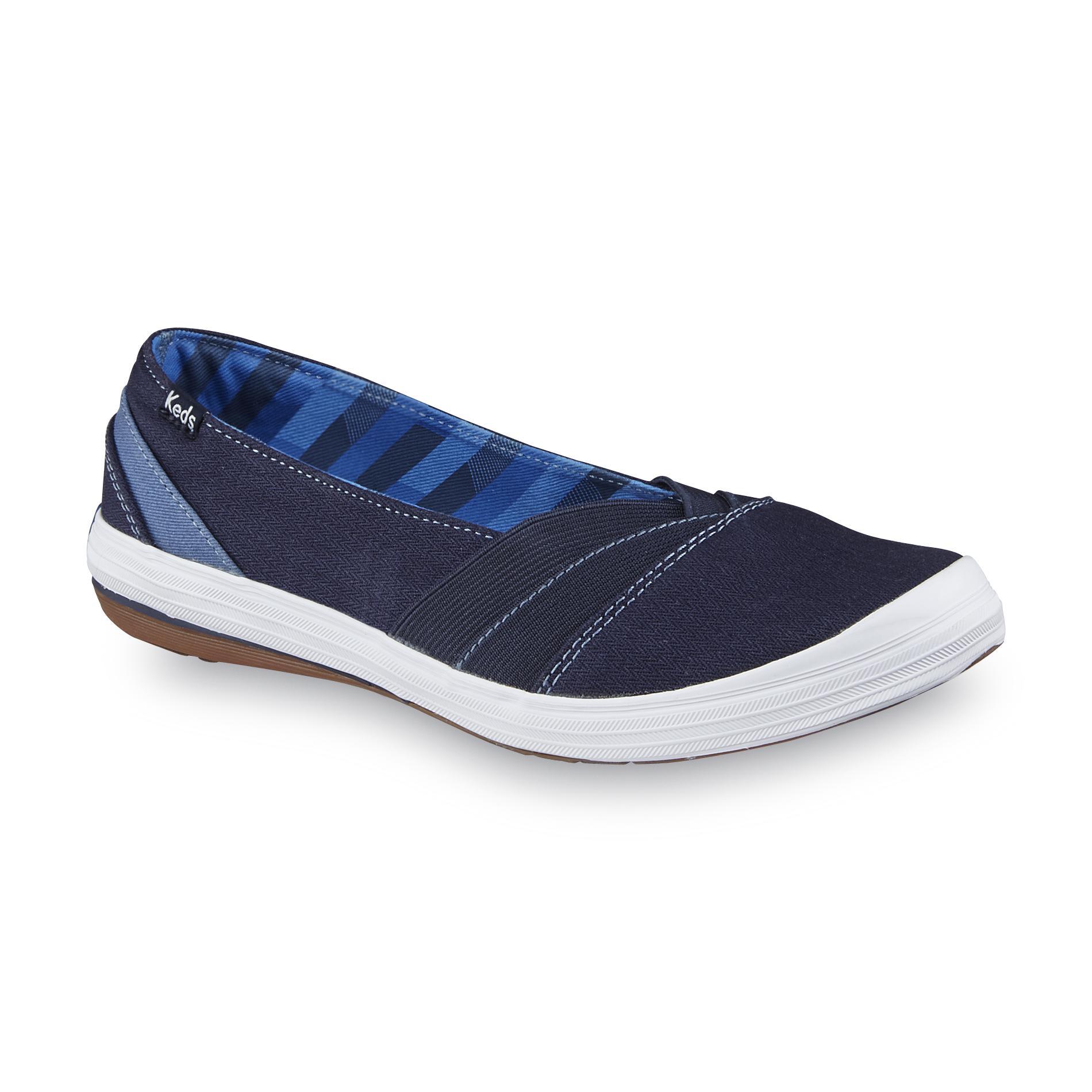 keds shoes keds womenu0027s whimsy navy slip-on shoe - shoes - womenu0027s shoes - womenu0027s  sneakers EDROMCL