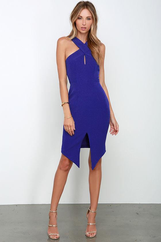 Accessorizing a blue dress
