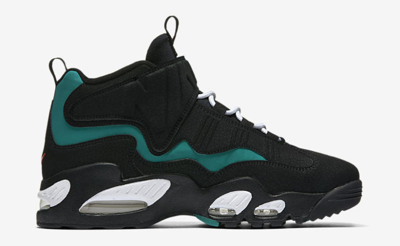 ken griffey jr shoes nike air griffey max 1. color: fresh water/white-black-varsity red style #:  354912-300. price: $150 RRUGJPL