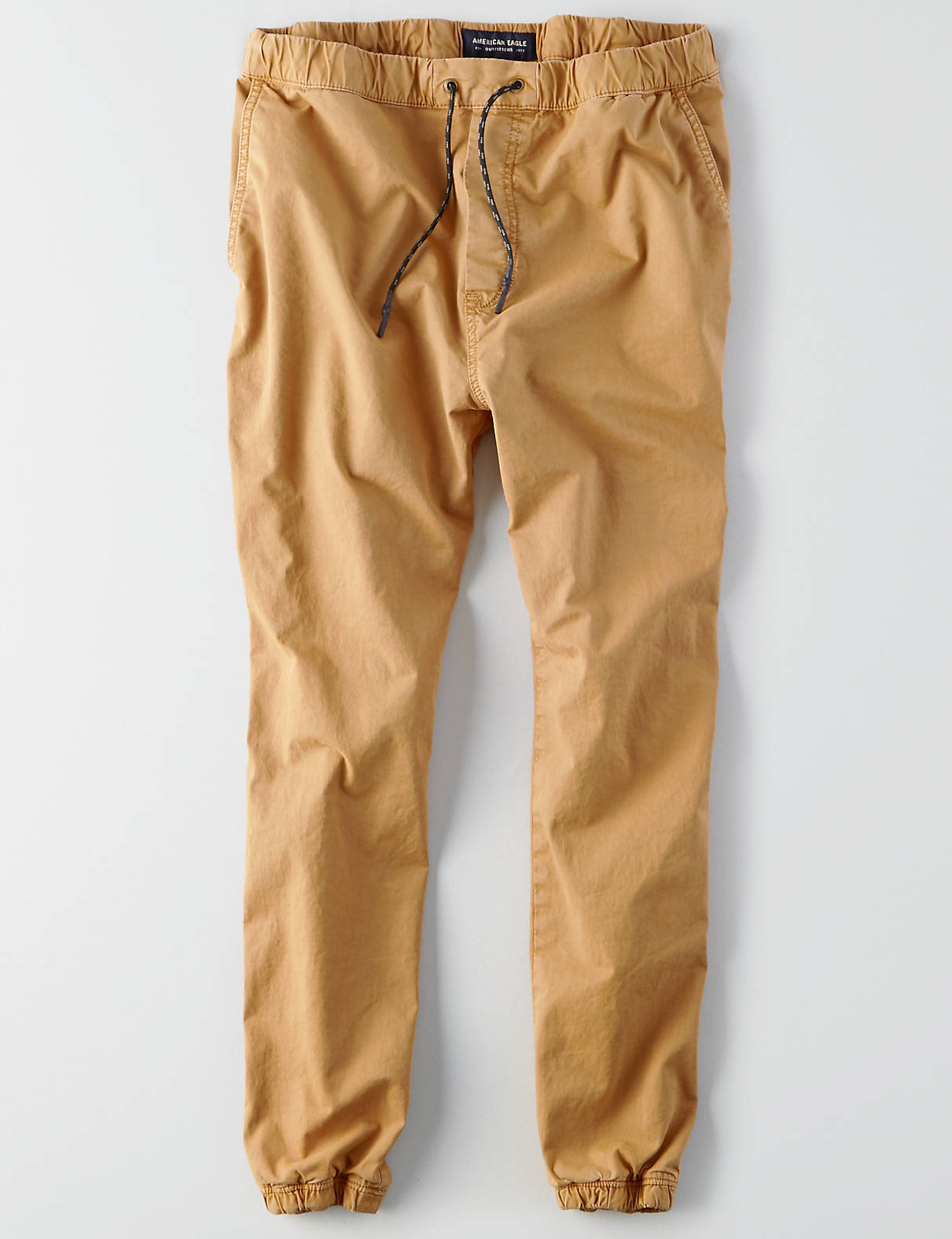khaki jeans display product reviews for aeo extreme flex twill jogger IOPZWJP