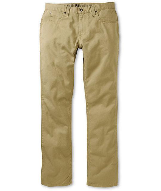 khaki jeans free world night train 5 pocket khaki pants VPEFVDF
