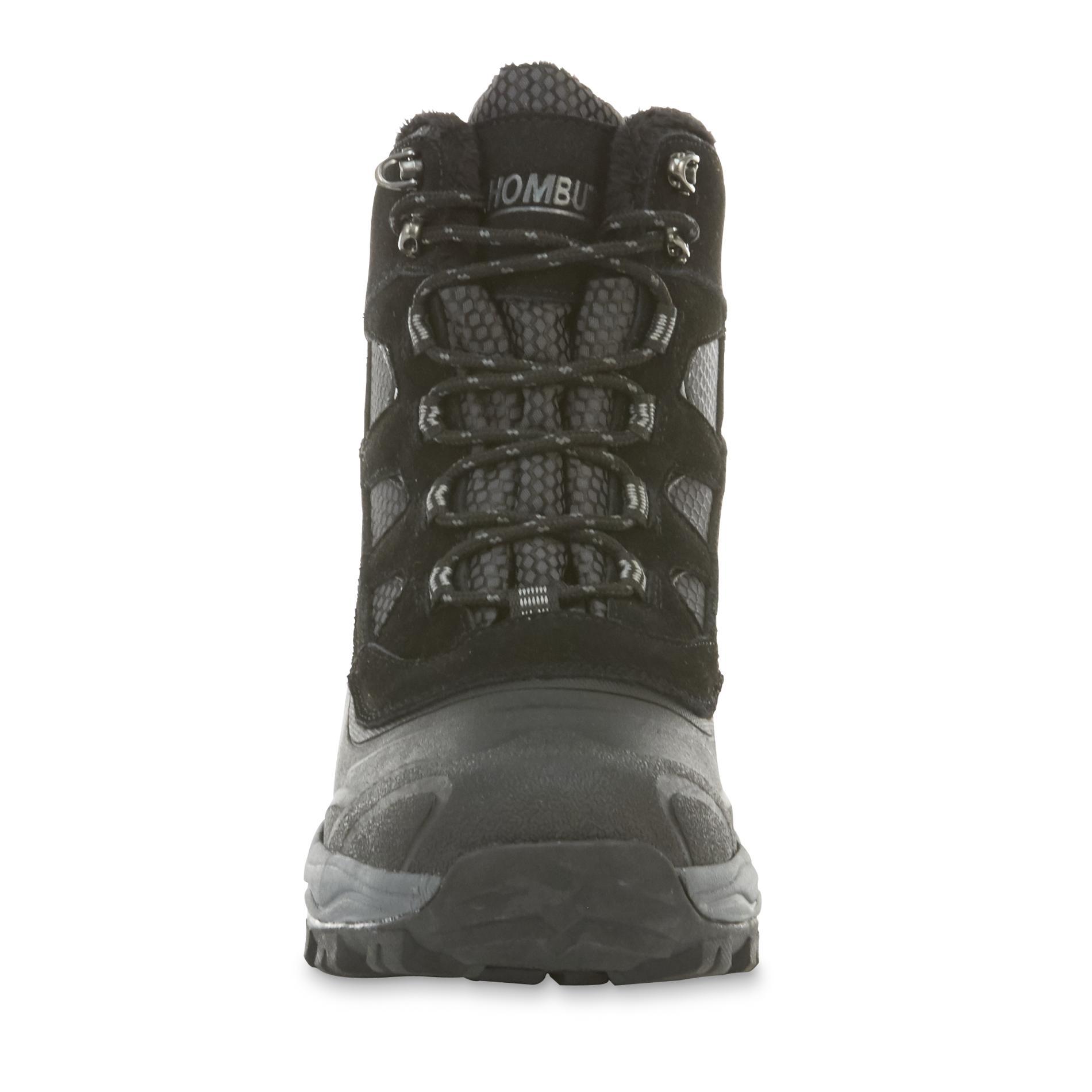 khombu boots khombu menu0027s ranger black waterproof winter boot 1 PMZBJCI