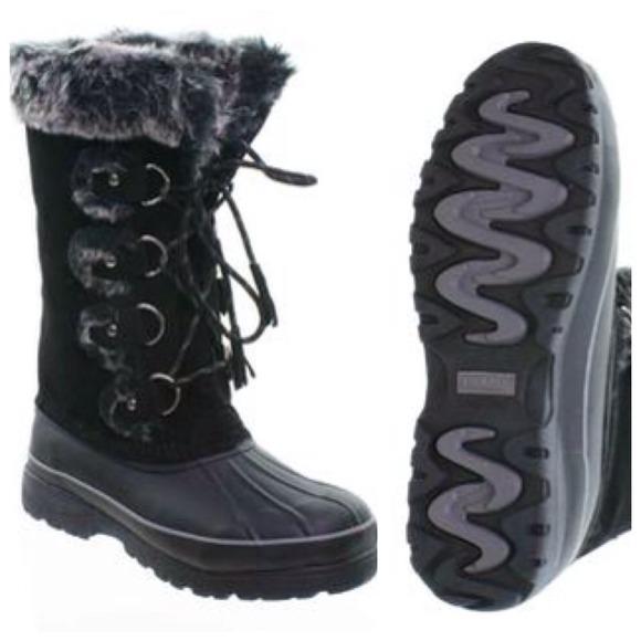 khombu boots khombu shoes - new khombu cold weather warm winter boots black 6 YWFGRCS
