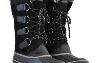 khombu shoes - khombu boots north star style- black HJRJDVG