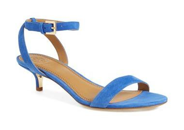 kitten heels blue suede sandal kitten heel TNKMVWU