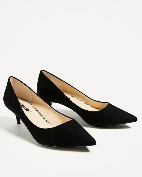 kitten heels image 3 of kitten heel shoes from zara LFXLISB