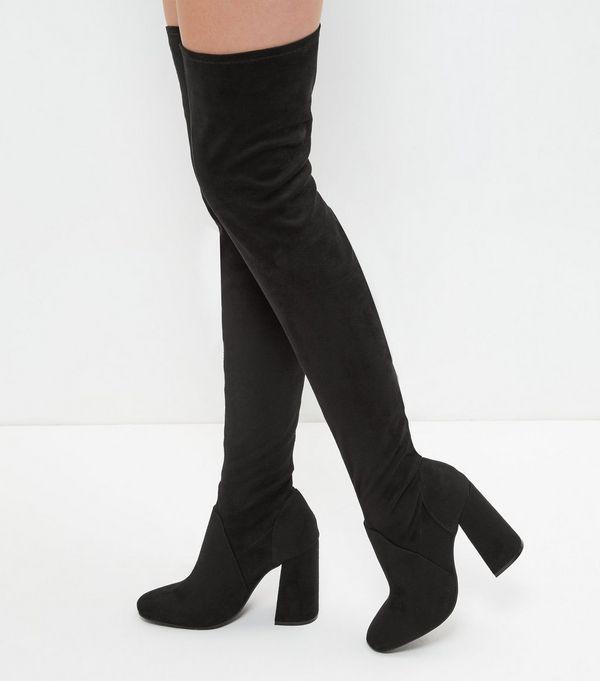 knee boots zoom QQXULGJ