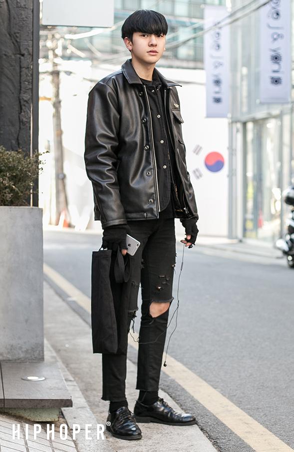 korean men fashion taken in streets of seoul; korea. QXHKRML