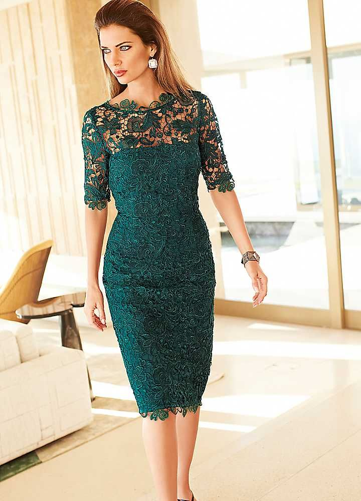 lace dresses lace mother of the bride dresses with short sleeves are available. this  illusion neckline ANQWPBH
