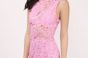 lace dresses sweet fantasy pink lace bodycon dress RLAZVUQ