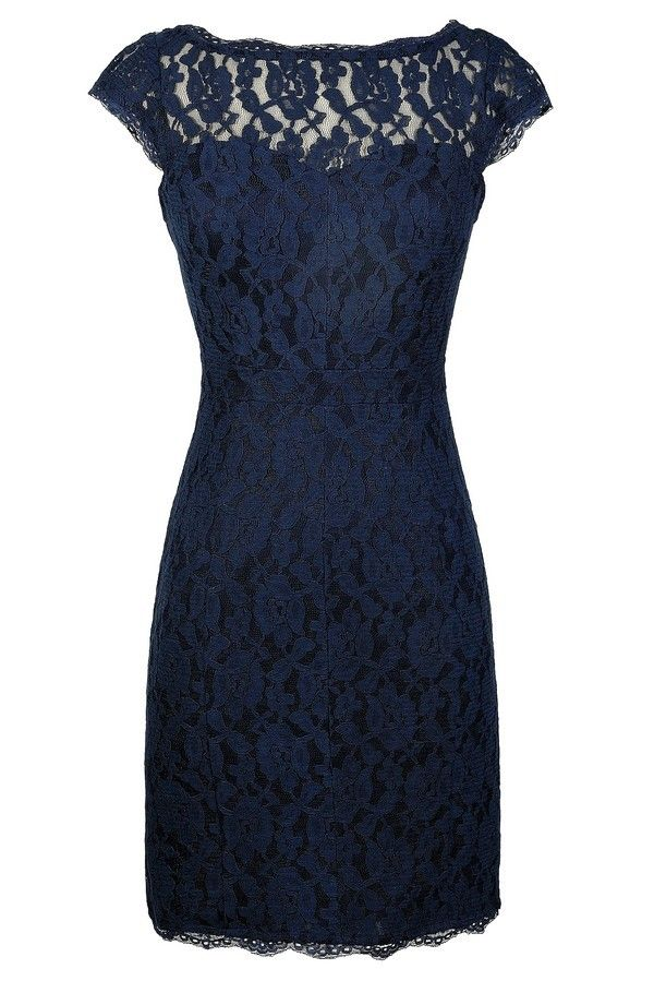 lace dresses time and lace pencil dress in navy www.lilyboutique.com SFAOQFQ