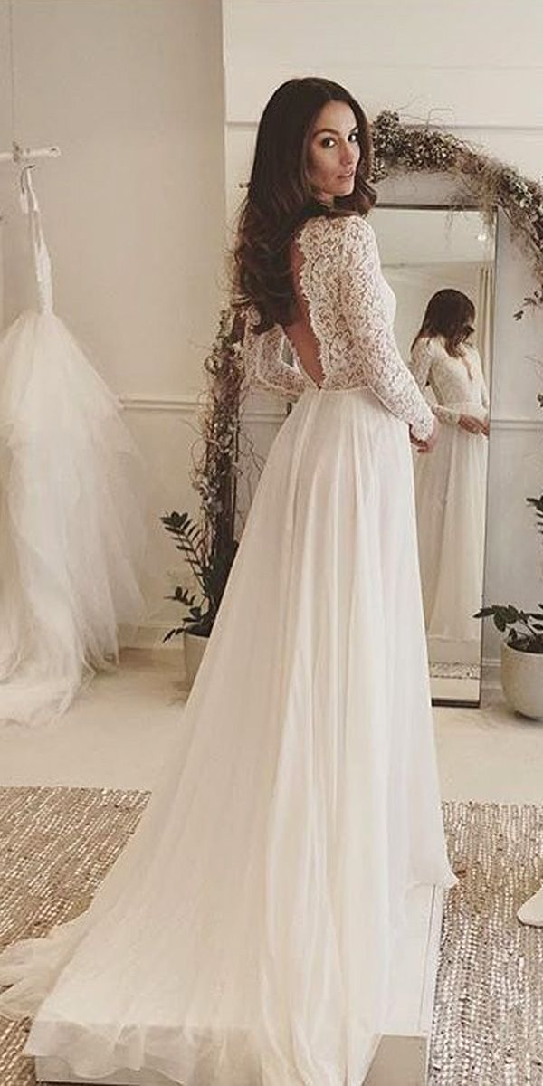 lace wedding dress 30+ rustic wedding theme ideas SURTNBD