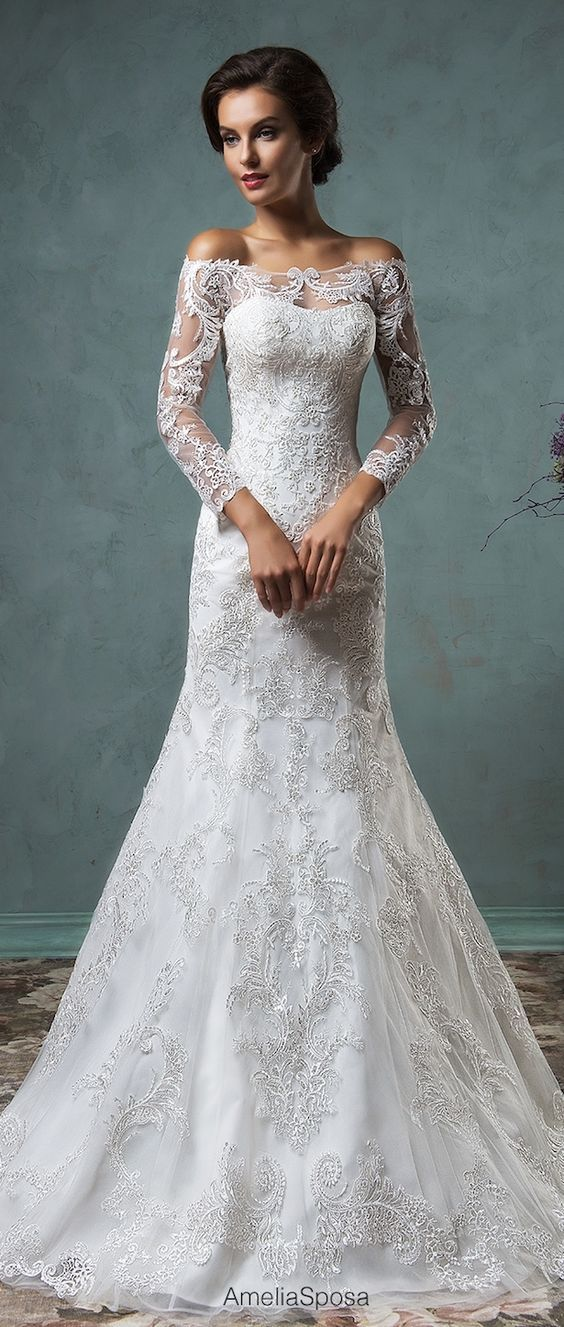 lace wedding dress 50 beautiful lace wedding dresses to die for PRAMYEJ