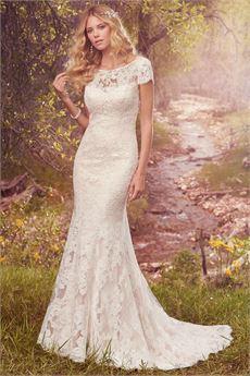 lace wedding dress hudson/ hudson marie FSMCGJQ