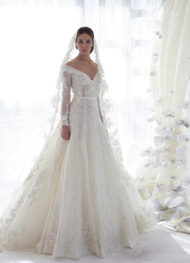 lace wedding gowns off the shoulder wedding dresses DNRJIWG