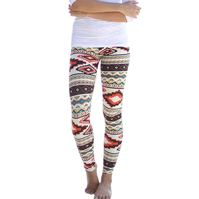 ladies aztec leggings skinny printed stretchy tribal jegging pencil pants  y001(china (mainland) OBFCEWM