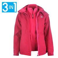ladies jackets karrimor 3 in 1 jacket ladies KSHNGGM