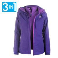 ladies jackets karrimor 3 in 1 jacket ladies PKTVSUJ