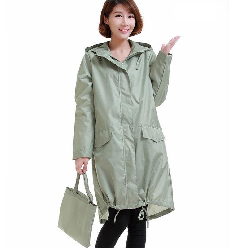 ladies raincoats winstbrok raincoat women 2017 fashion ladies rain coat breathable ladies  long raincoats portable water-repellent HEXNUSW