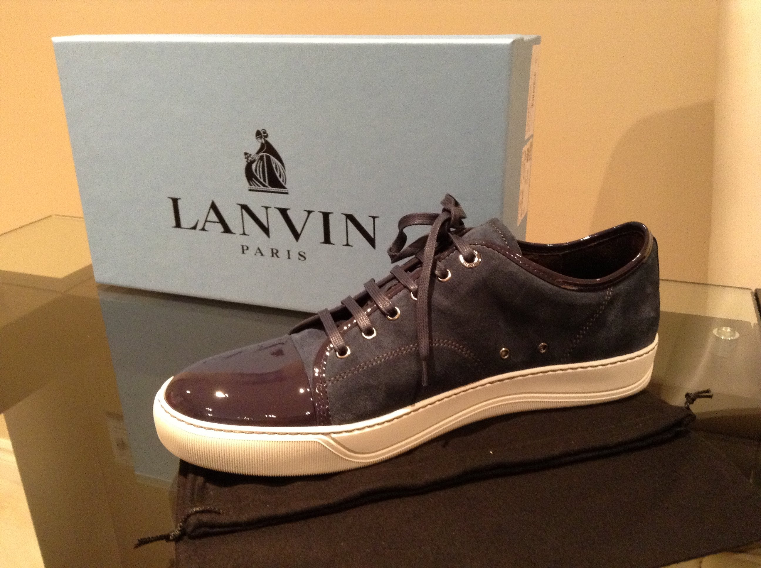 lanvin sneakers unboxing lanvin suede sneakers #1 - youtube NRGQIAP