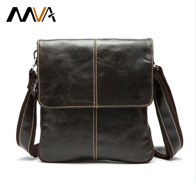leather bags for men aliexpress.com : buy mva genuine leather men bag fashion leather crossbody bag  men messenger VEUDZFD