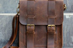 leather bags for men mens leather satchel / ipad messenger / leather man bag - distressed leather  bag KBLMWPC