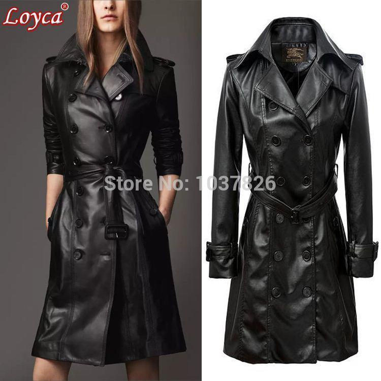 leather coats cheap loyca leather suede best sashes,pockets,button,epaulet turn-down  collar luxury leather accessories WRDRHWA