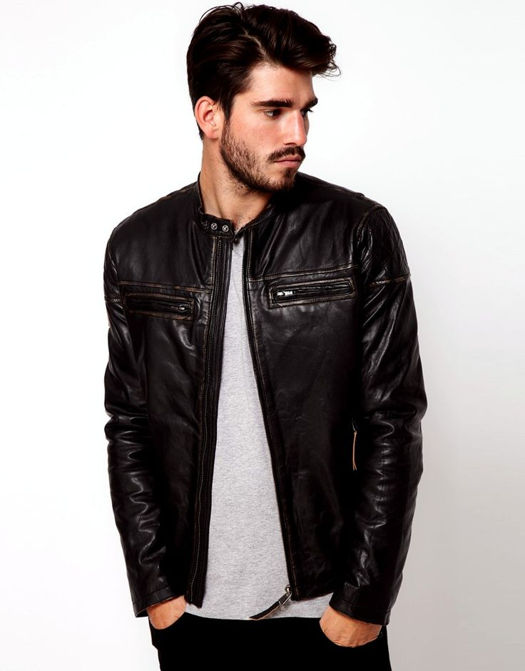 Tips for choosing leather jackets for men