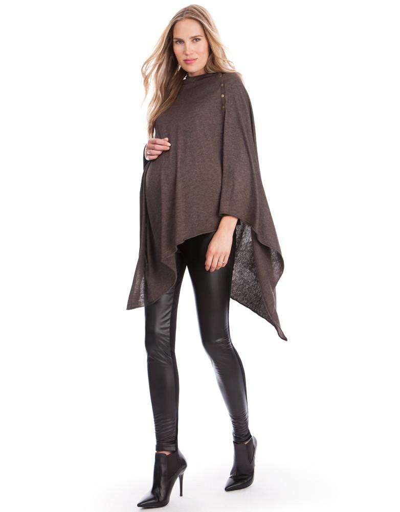 leather leggings faux leather panel maternity leggings FAZOTTP