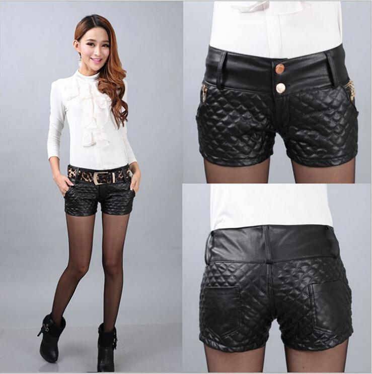 leather shorts womens-leather-shorts-womens-shorts-2017-fashion-trends- ... SDWKGFH