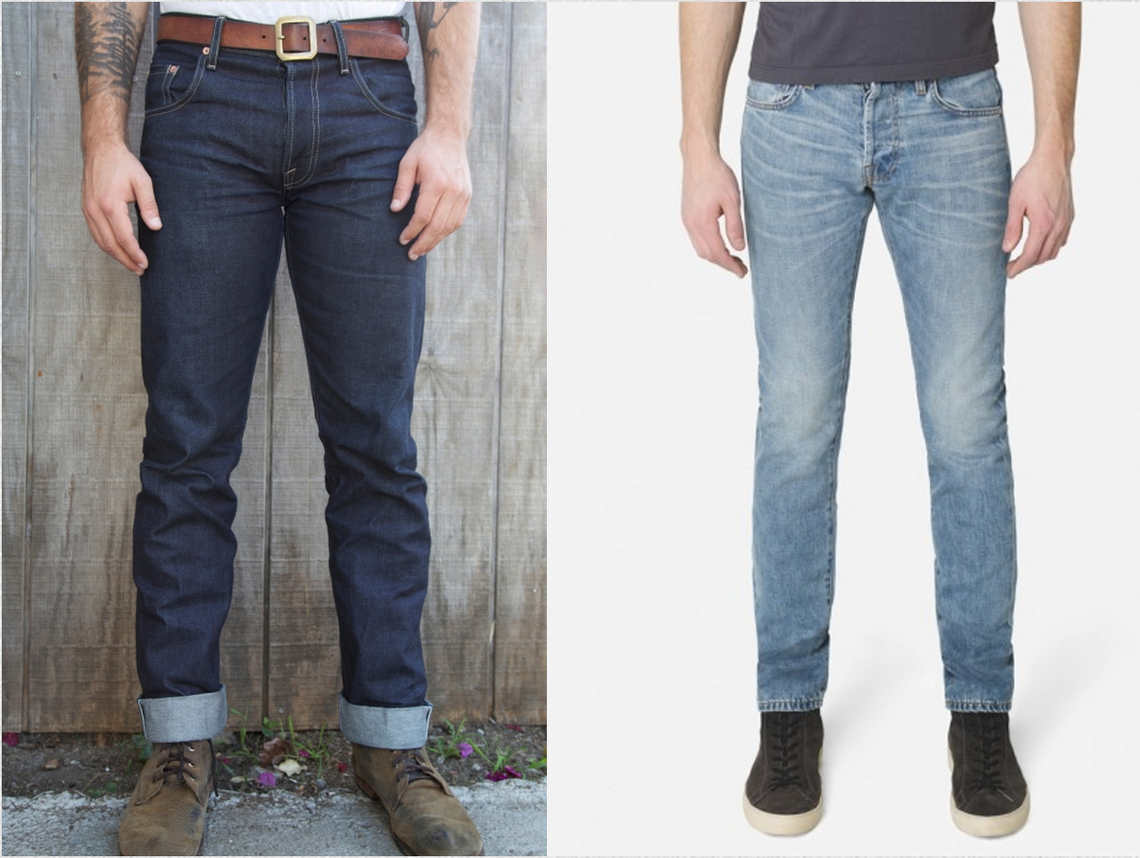 The world of stylish raw denim, that's makes you go crazy for it.