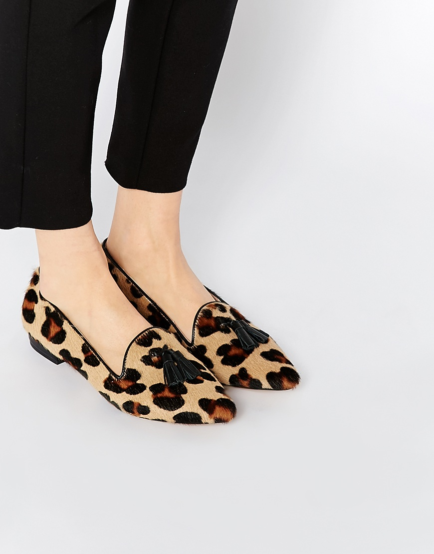 Leopard print shoes for women