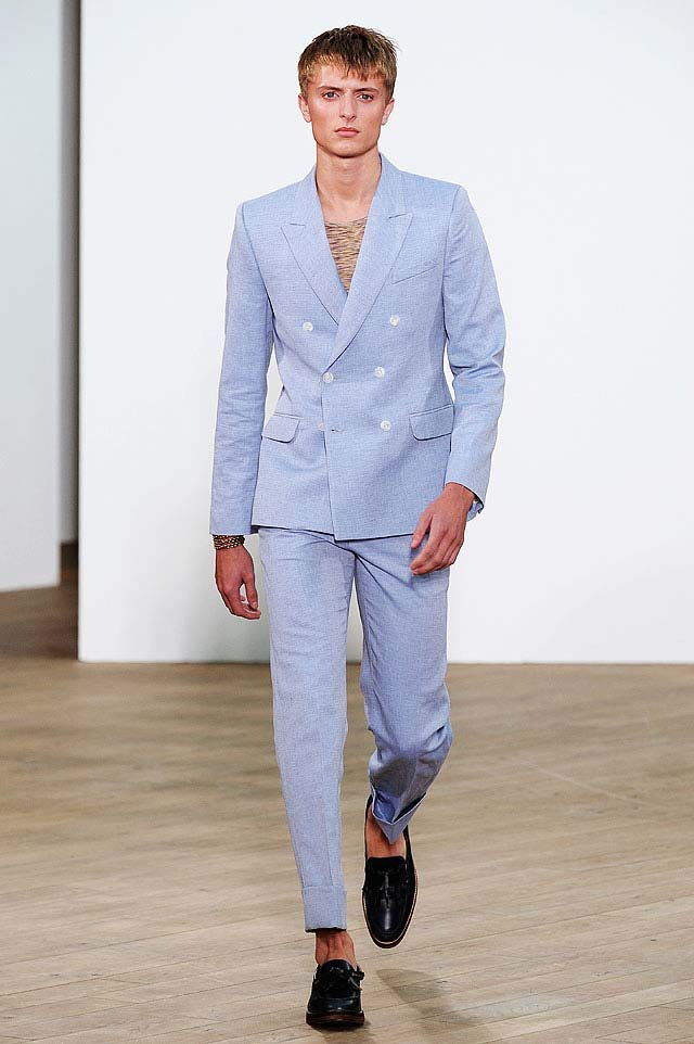 linen suits for men topman double breasted blue linen suit NWQYIQS